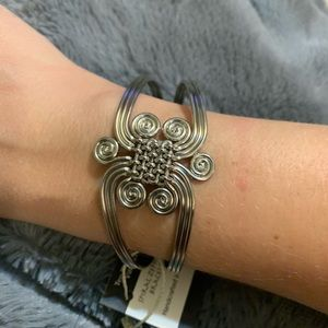 Ten Thousand Villages Spiral Zephyrs Bracelet